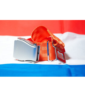 Ceinture avion - Mini Orange Pays-bas